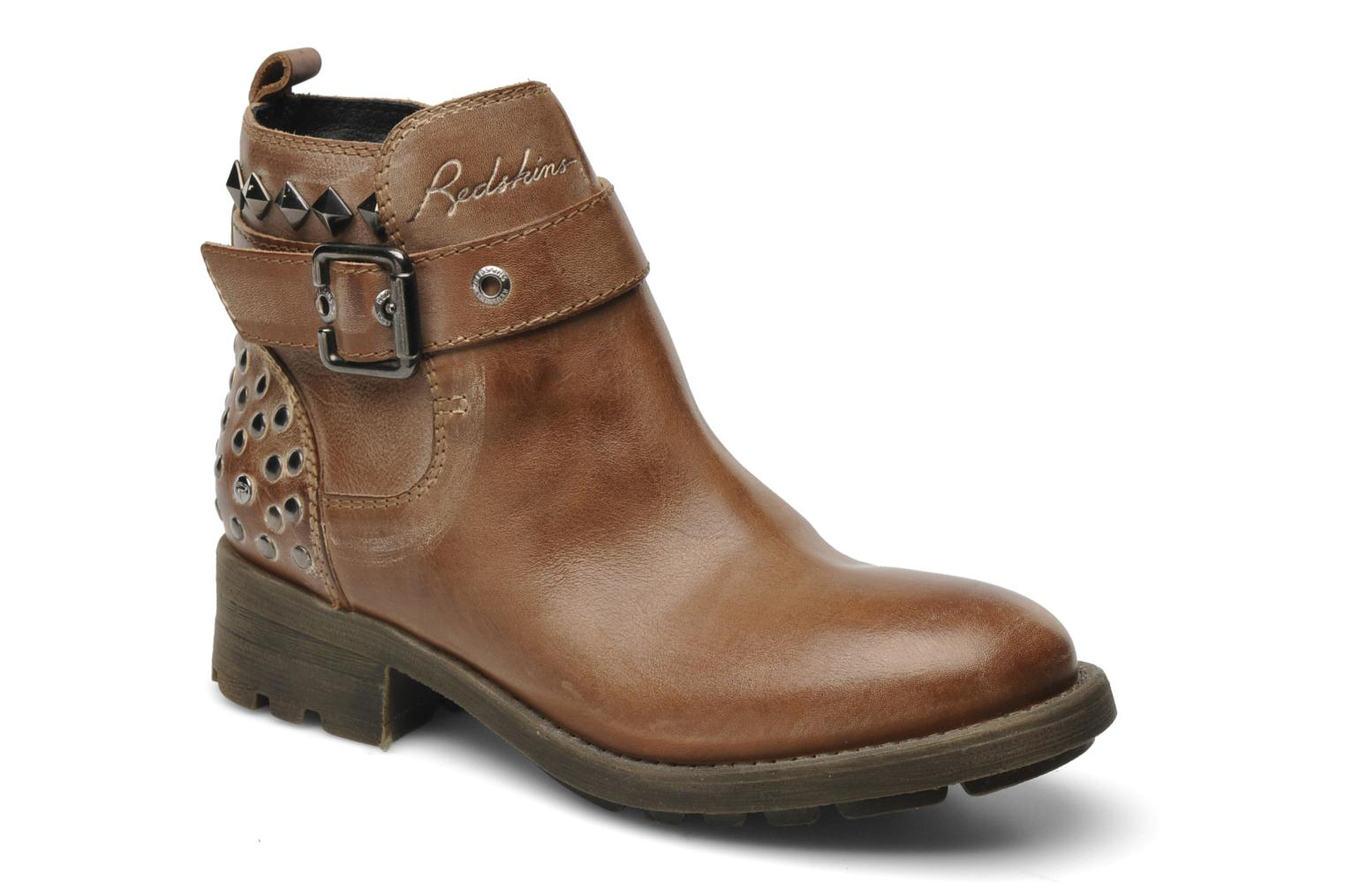 Ankle boots Redskins Gisor Brown detailed view/ Pair view