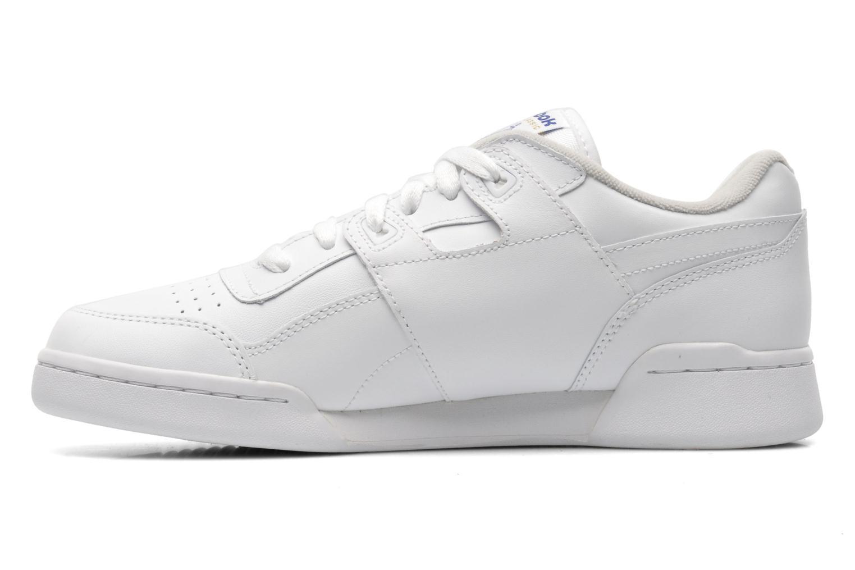 Baskets Reebok Workout Plus Blanc vue face