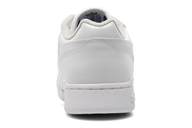 Baskets Reebok Workout Plus Blanc vue droite