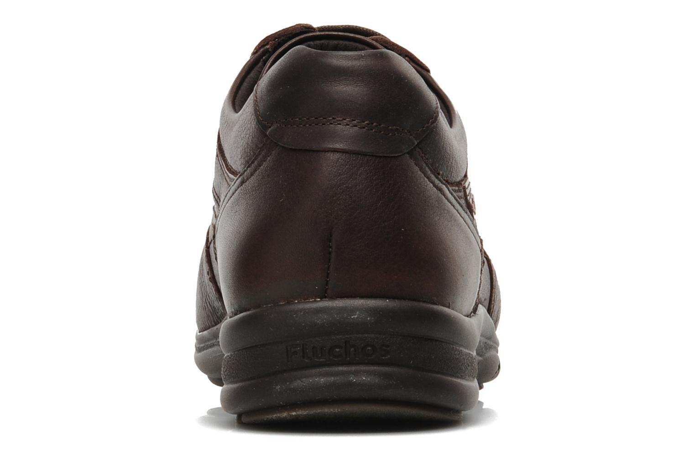 Chaussures à lacets Fluchos Jesus 8403 Marron vue droite