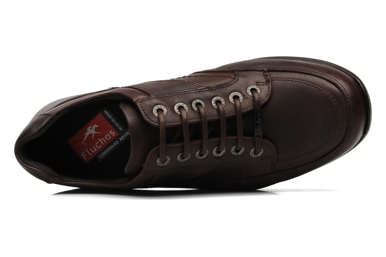 Chaussures à lacets Fluchos Jesus 8403 Marron vue gauche