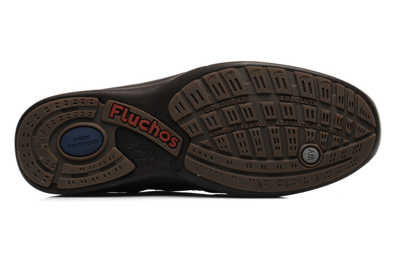 Chaussures à lacets Fluchos Jesus 8403 Marron vue haut