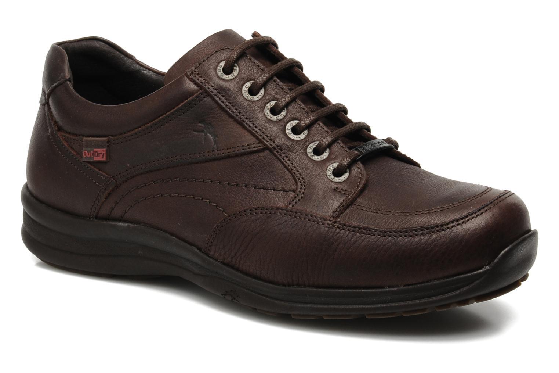 Chaussures à lacets Fluchos Jesus 8403 Marron vue détail/paire