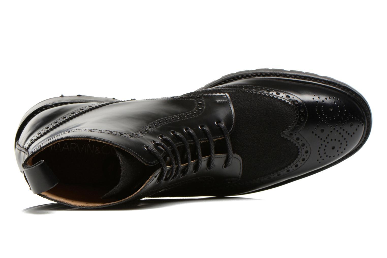 Boots en enkellaarsjes Marvin&Co Luxe Wladimir Zwart links