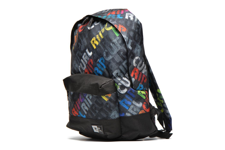 Sacs à dos Rip Curl Dome Multicolore vue portées chaussures