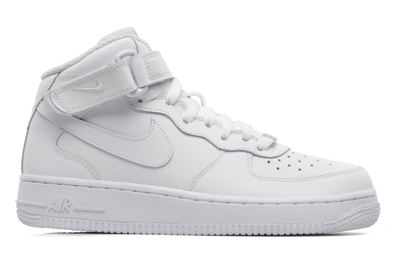 Baskets Nike Air Force 1 Mid (Gs) Blanc vue derrière