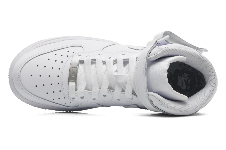 Baskets Nike Air Force 1 Mid (Gs) Blanc vue gauche
