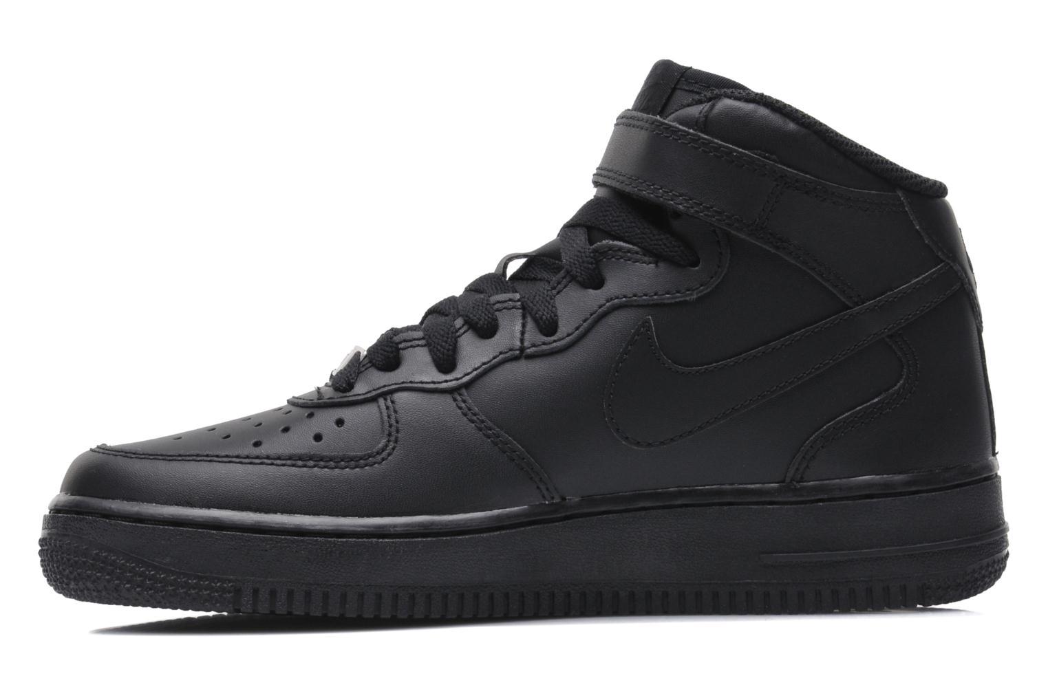 Air Force 1 Mid (Gs) Black/black