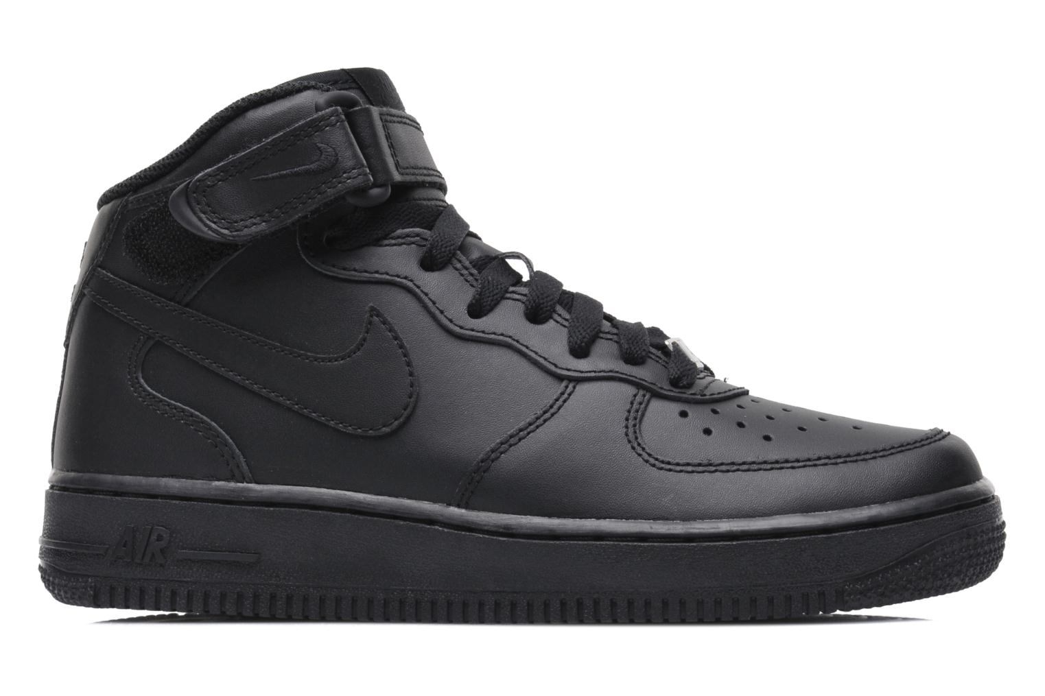 Sneakers Nike Air Force 1 Mid (Gs) Nero immagine posteriore