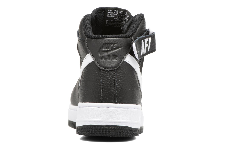 Baskets Nike Air Force 1 Mid (Gs) Noir vue droite