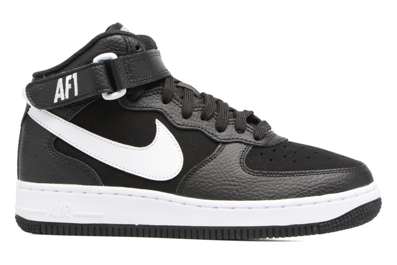 Baskets Nike Air Force 1 Mid (Gs) Noir vue derrière