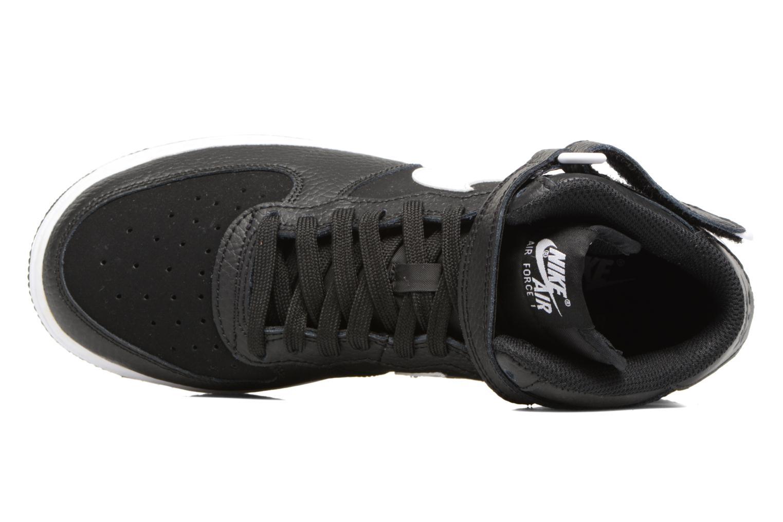 Baskets Nike Air Force 1 Mid (Gs) Noir vue gauche