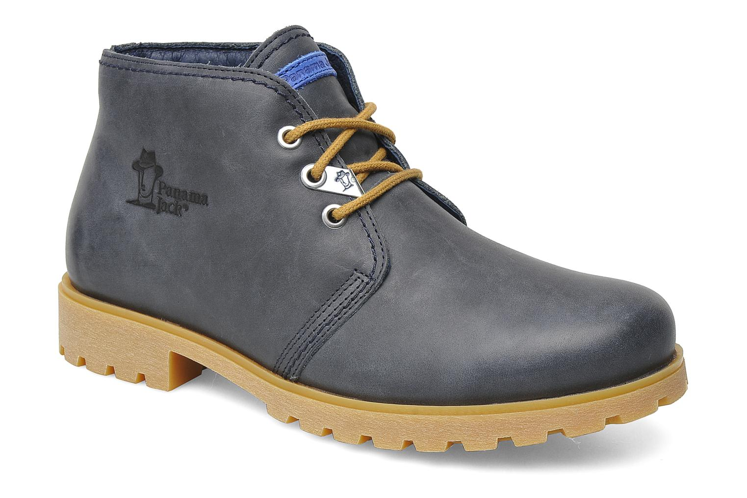 Lace-up shoes Panama Jack Bota Panama M Blue detailed view/ Pair view
