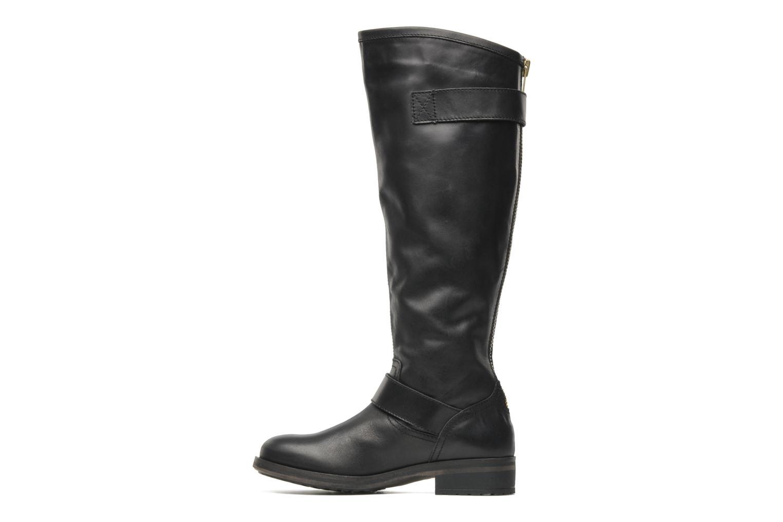 BARTON Black leather