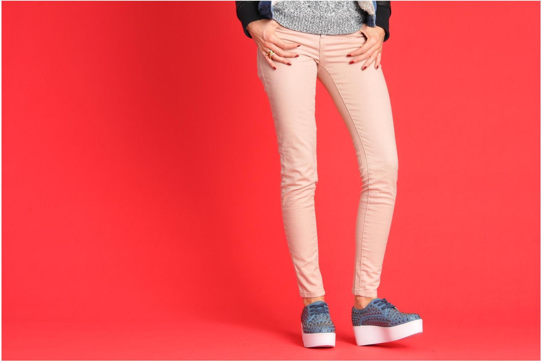 Chaussures à lacets Steve Madden JJFLASH-R Bleu vue bas / vue portée sac