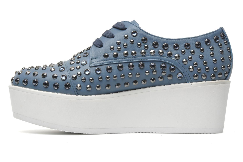 Chaussures à lacets Steve Madden JJFLASH-R Bleu vue face