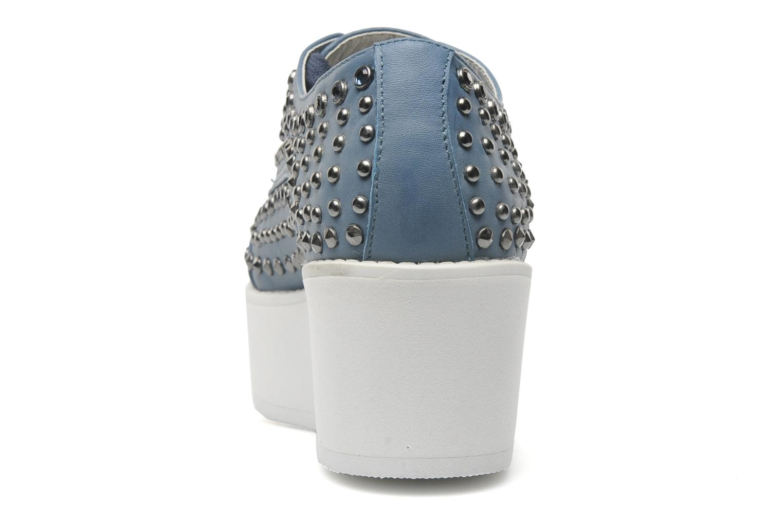 Schnürschuhe Steve Madden JJFLASH-R blau ansicht von rechts
