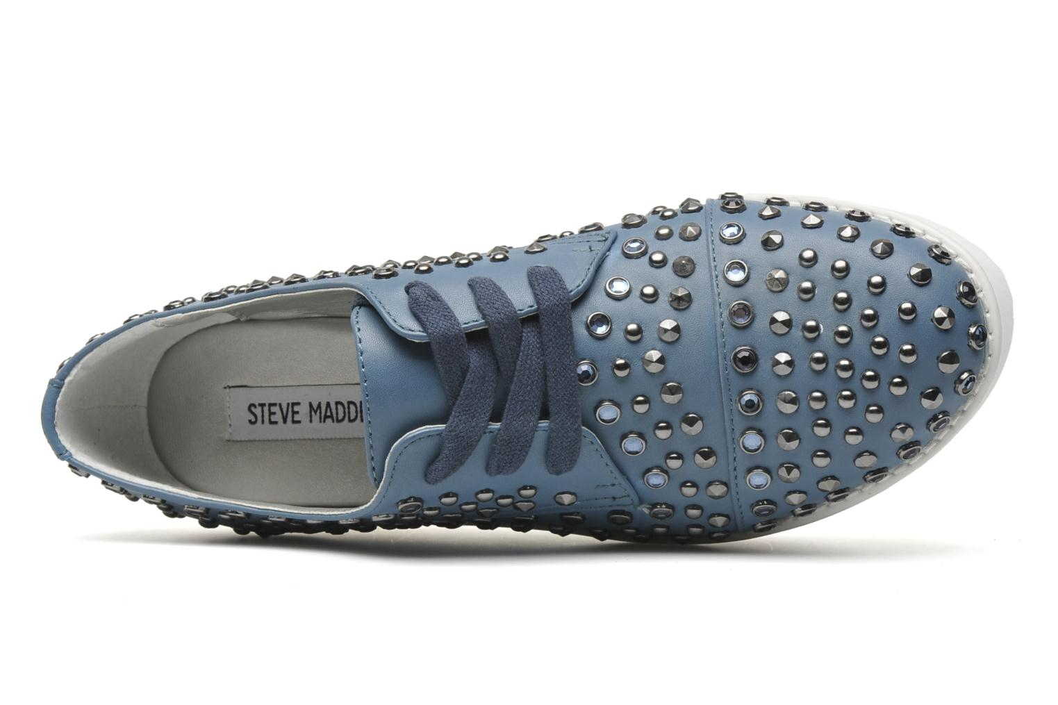 Lace-up shoes Steve Madden JJFLASH-R Blue view from the left
