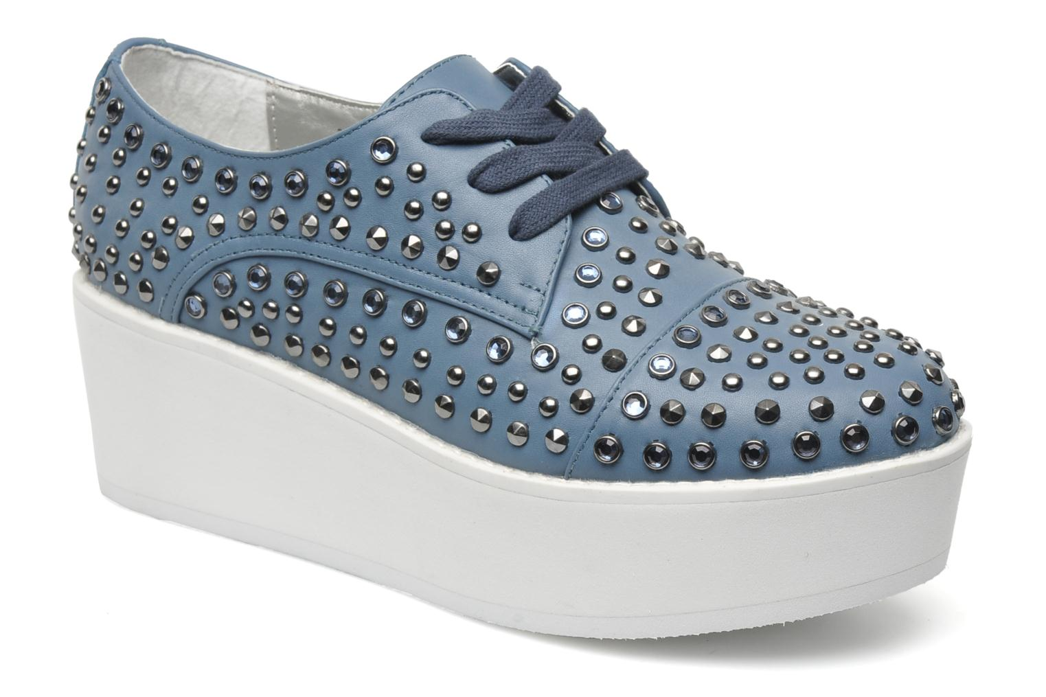 Lace-up shoes Steve Madden JJFLASH-R Blue detailed view/ Pair view