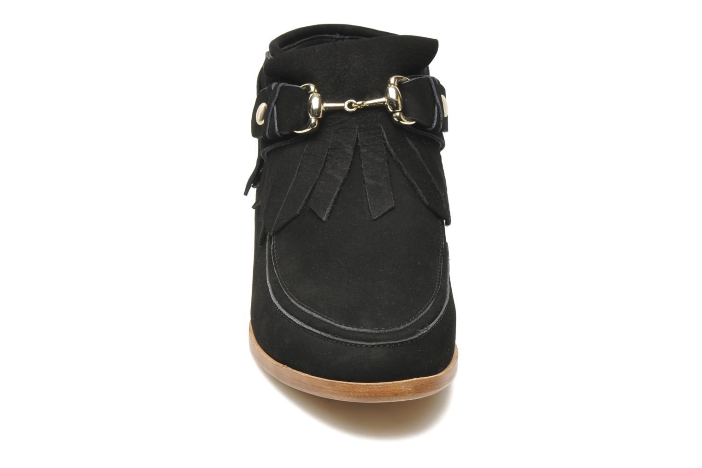 Bottines et boots F-Troupe Fringy Noir vue portées chaussures