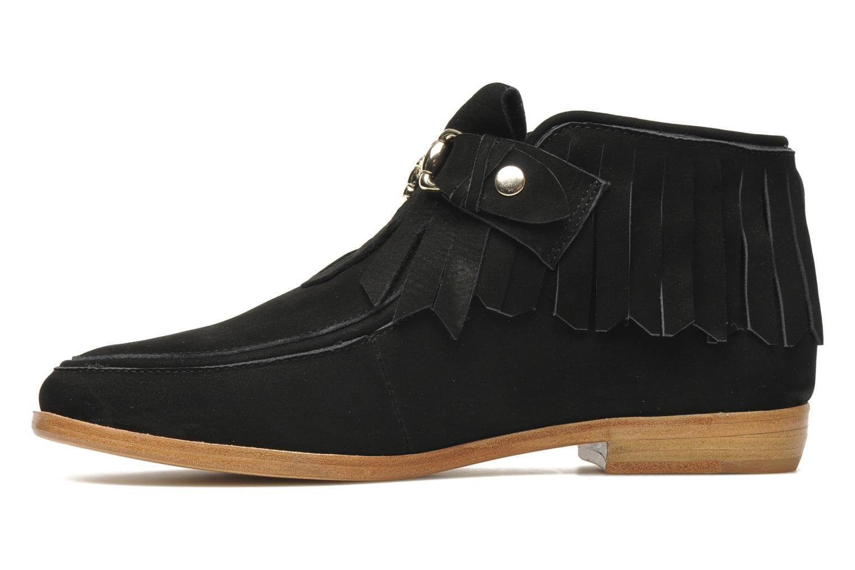 Bottines et boots F-Troupe Fringy Noir vue face
