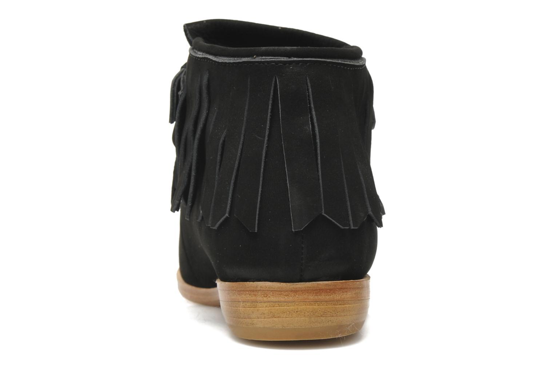 Bottines et boots F-Troupe Fringy Noir vue droite