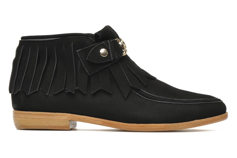 Bottines et boots F-Troupe Fringy Noir vue derrière