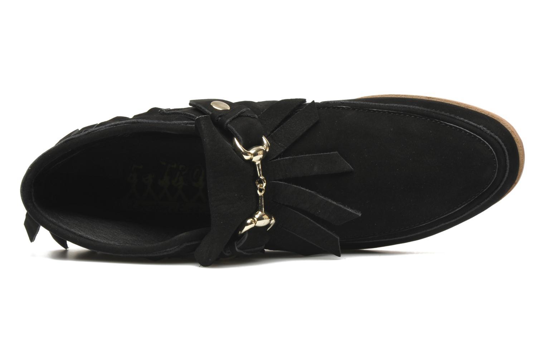 Bottines et boots F-Troupe Fringy Noir vue gauche