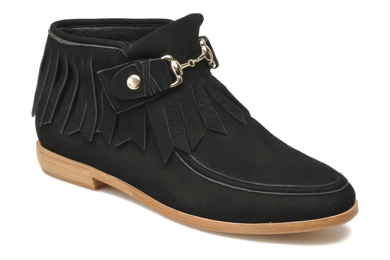 Bottines et boots F-Troupe Fringy Noir vue détail/paire