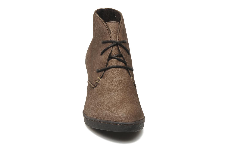 Bottines et boots Khrio Capri Marron vue portées chaussures