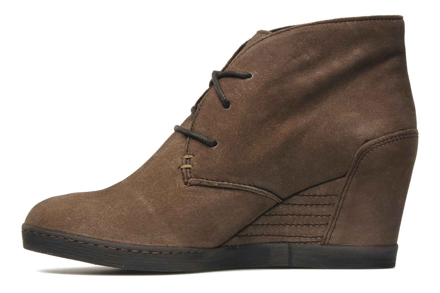 Ankle boots Khrio Capri Brown front view