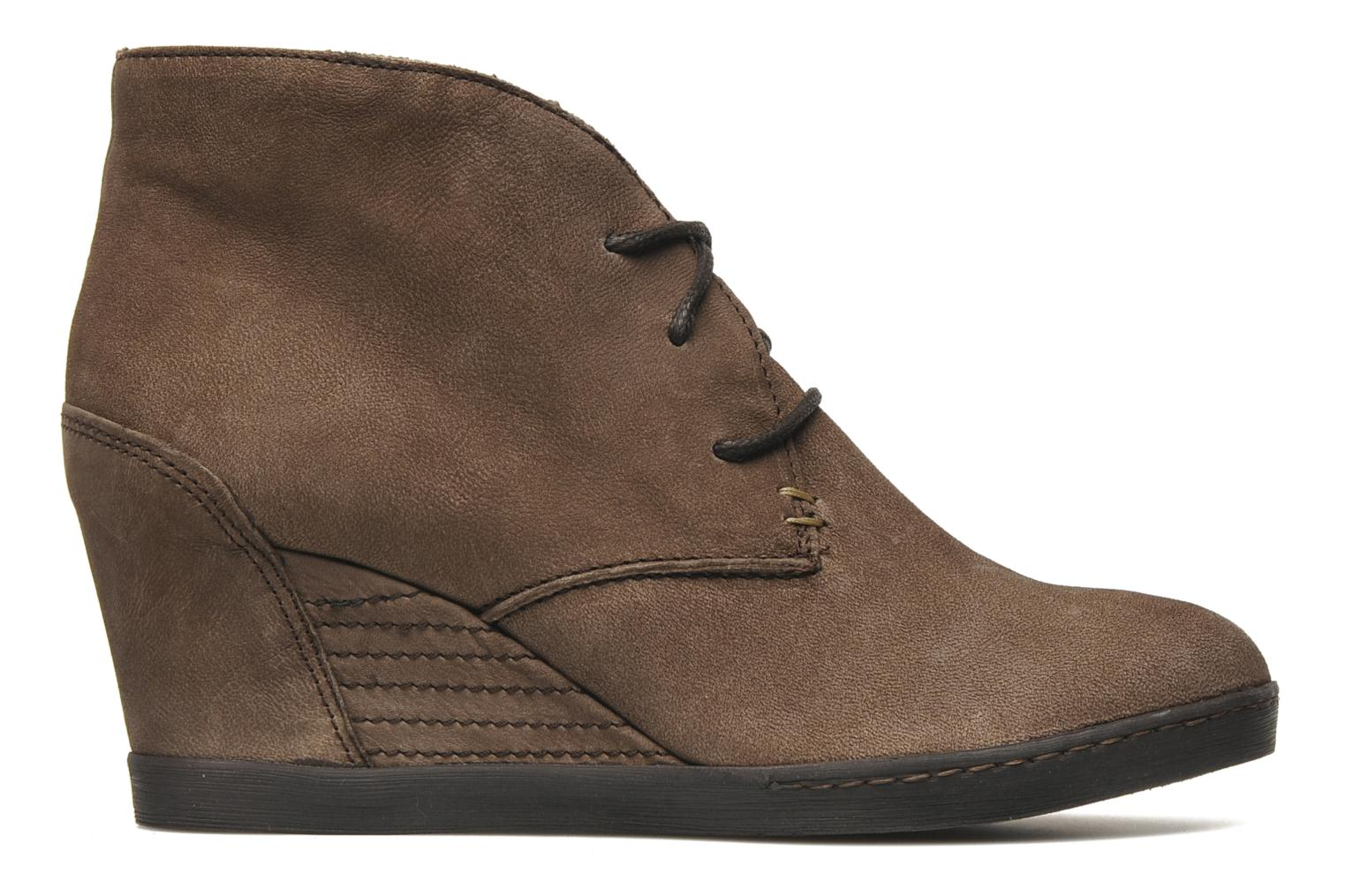 Ankle boots Khrio Capri Brown back view