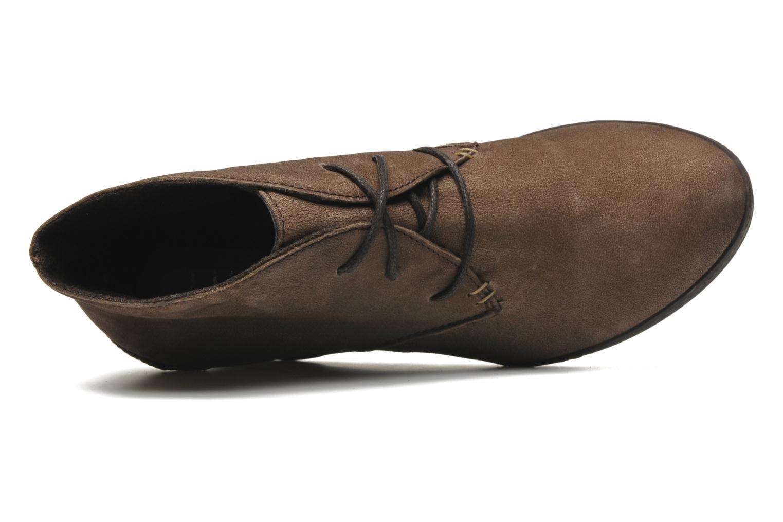 Bottines et boots Khrio Capri Marron vue gauche