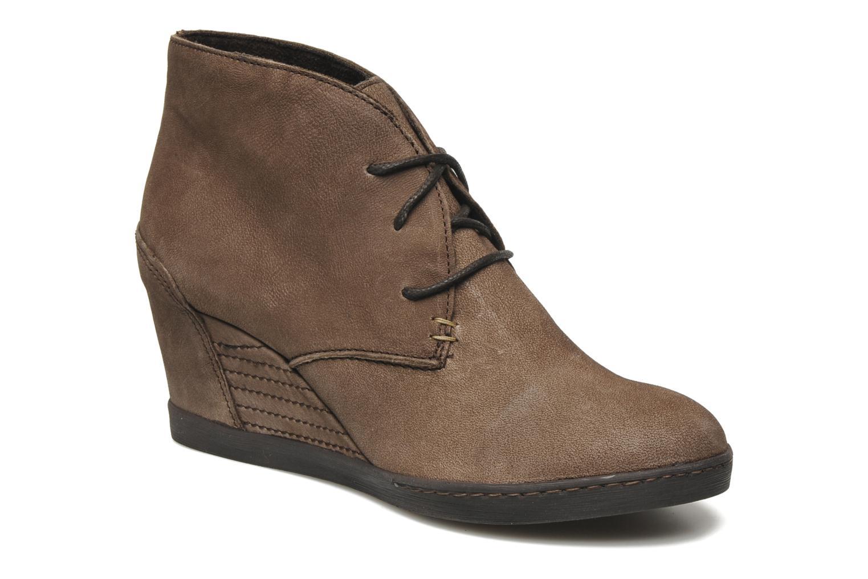 Boots en enkellaarsjes Khrio Capri Bruin detail