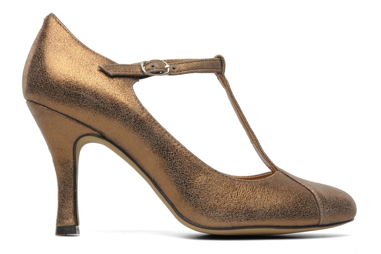 High heels Eden Atilla Bronze and Gold back view