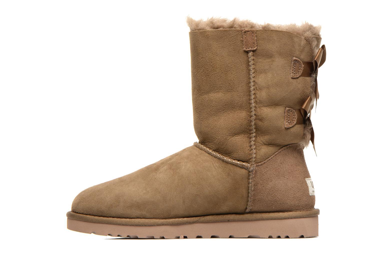 Bottines et boots UGG Bailey Bow W Marron vue face