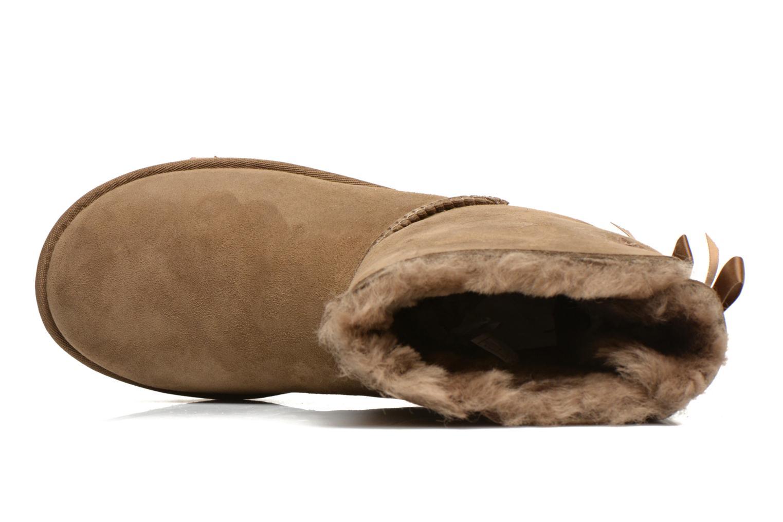 Stiefeletten & Boots UGG Bailey Bow W braun ansicht von links