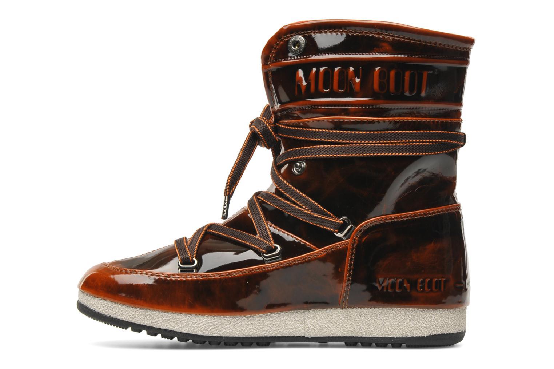 Boots en enkellaarsjes Moon Boot 3rd Avenue Bruin voorkant