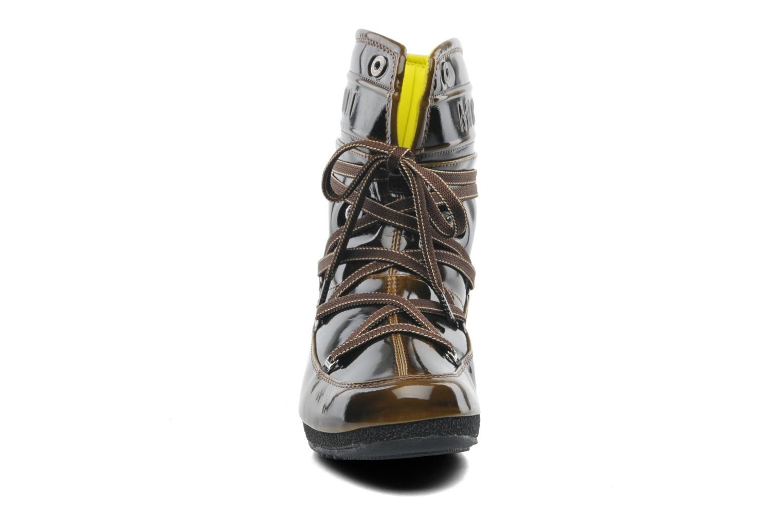 Bottines et boots Moon Boot 3rd Avenue Marron vue portées chaussures