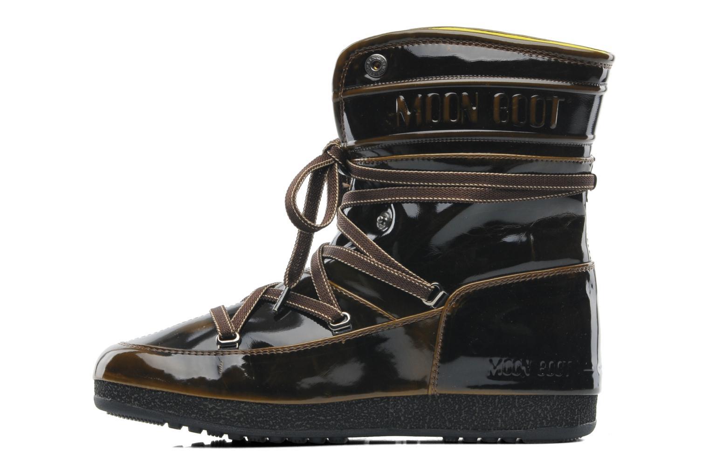 Stiefeletten & Boots Moon Boot 3rd Avenue braun ansicht von vorne