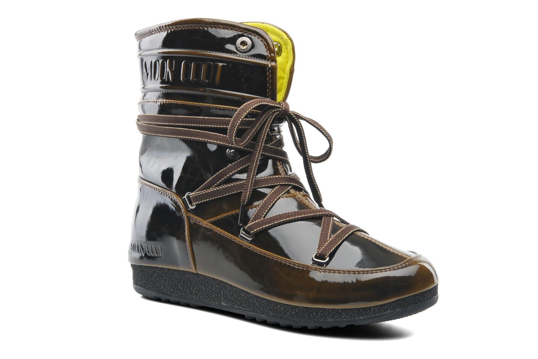 Boots en enkellaarsjes Moon Boot 3rd Avenue Bruin detail
