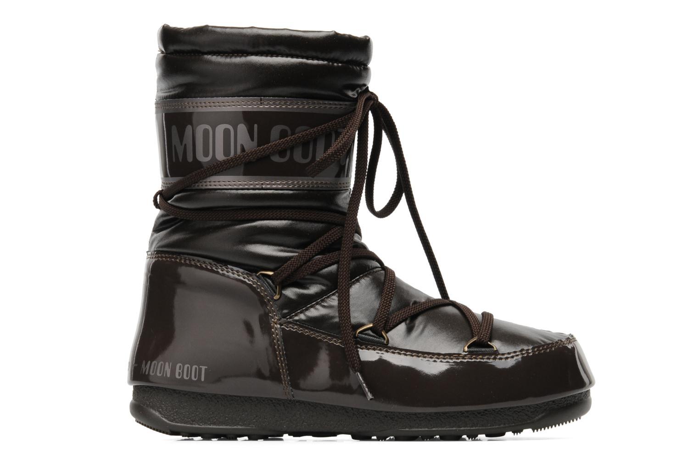 Stiefeletten & Boots Moon Boot Soft Mid braun ansicht von hinten
