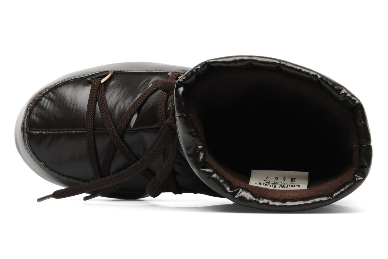 Bottines et boots Moon Boot Soft Mid Marron vue gauche