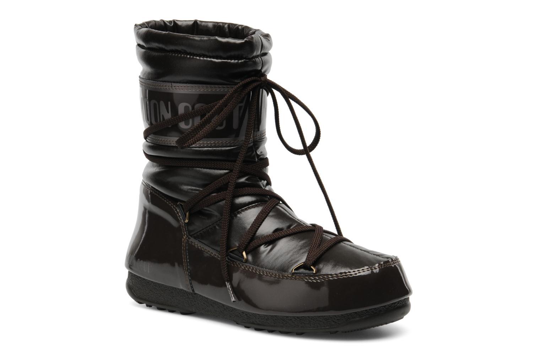 Bottines et boots Moon Boot Soft Mid Marron vue détail/paire