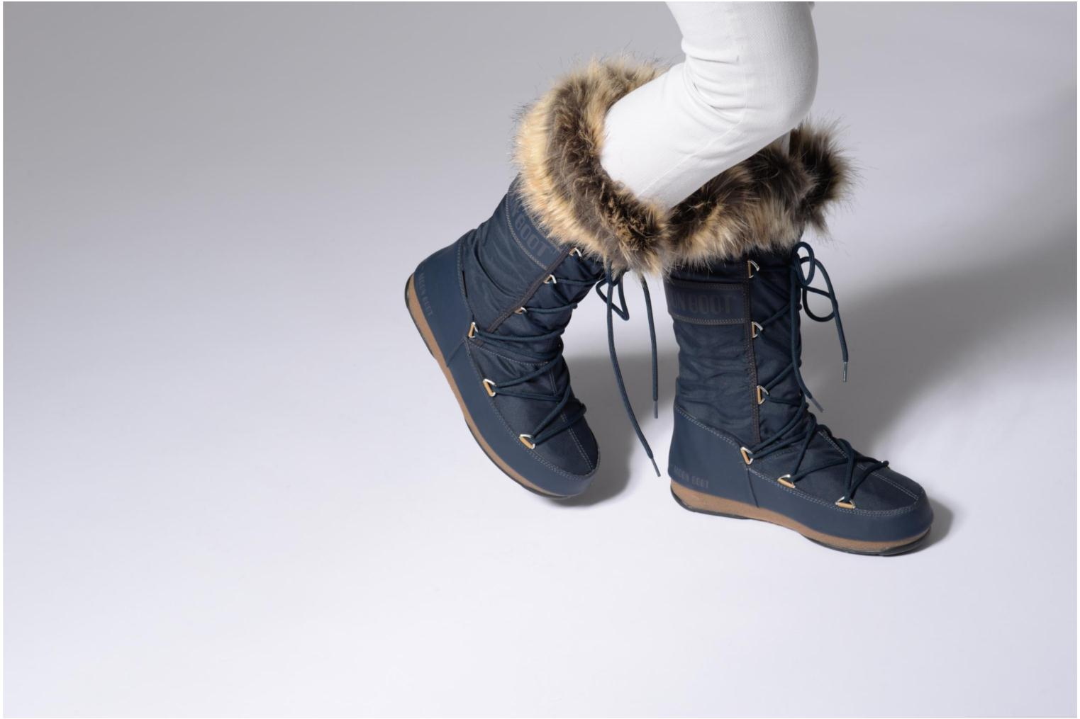 Monaco blue Moon Moon Denim Monaco Boot Monaco Moon blue Boot Denim Boot Denim Moon Monaco Denim blue Boot EwO7nAq