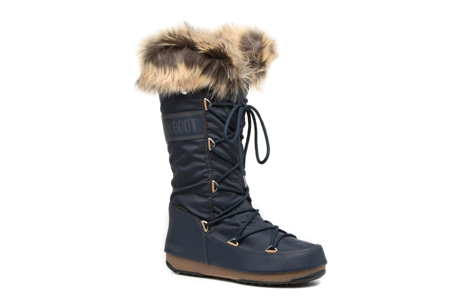 Boots & wellies Moon Boot Monaco Blue detailed view/ Pair view