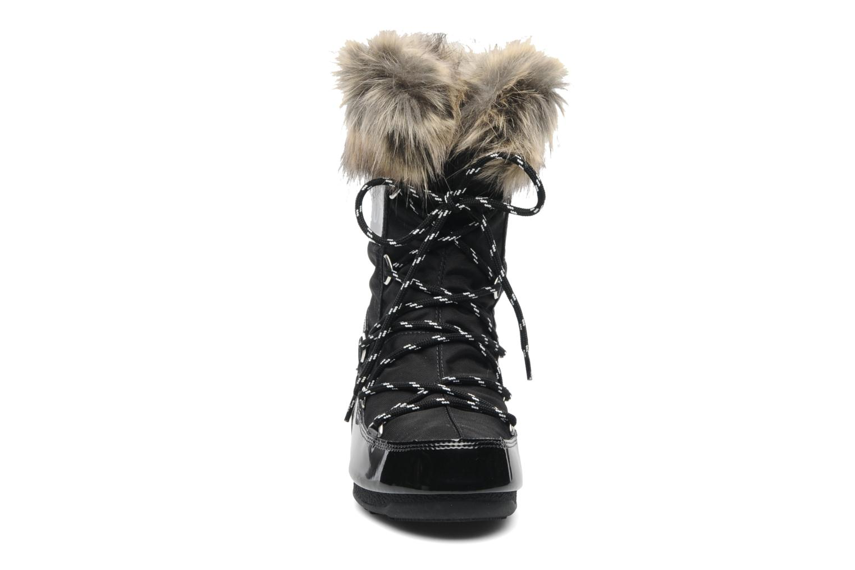 Stiefeletten & Boots Moon Boot Monaco Low schwarz schuhe getragen
