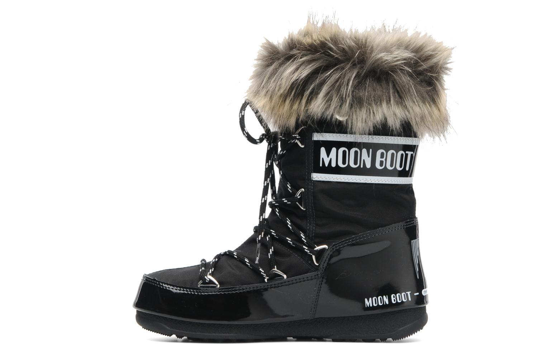 Bottines et boots Moon Boot Monaco Low Noir vue face