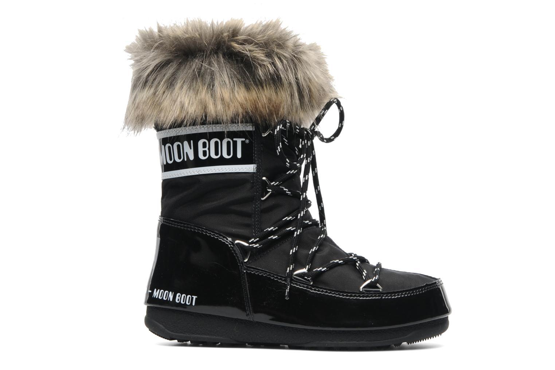 Stiefeletten & Boots Moon Boot Monaco Low schwarz ansicht von hinten