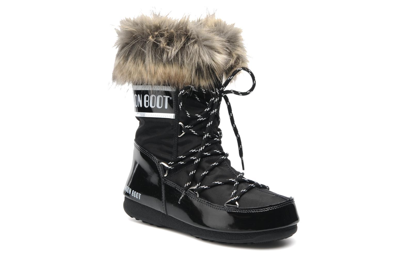 Stiefeletten & Boots Moon Boot Monaco Low schwarz detaillierte ansicht/modell